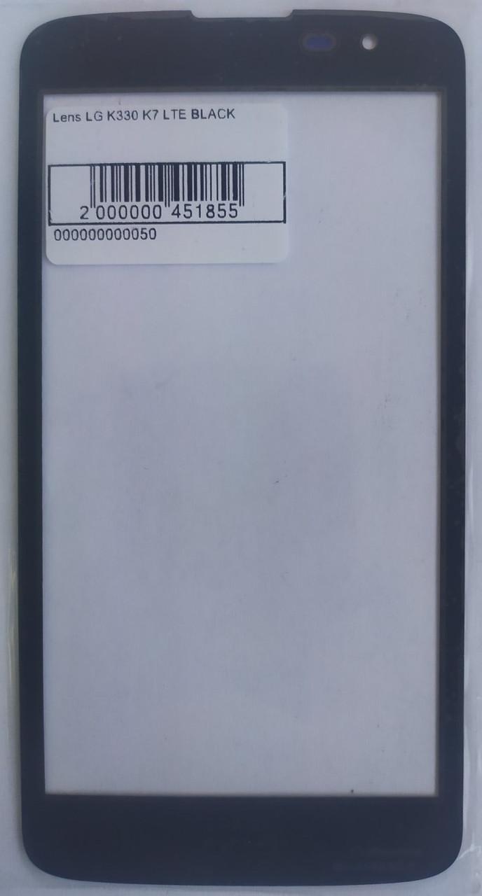 Стекло модуля для LG K330 K7 LTE BLACK
