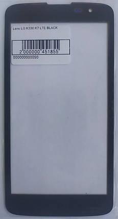 Стекло модуля для LG K330 K7 LTE BLACK, фото 2
