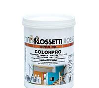 Стойкая к мытью сатиновая краска для водной основе для интерьеров COLORPRO 10 л Rossetti