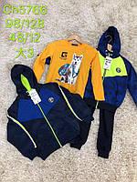 Спортивный костюм для мальчиков тройка S&D 98-128 р.р.