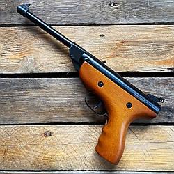 Пистолет переломный пневматический Air Pistol S2-1 4.5 мм (дерево)