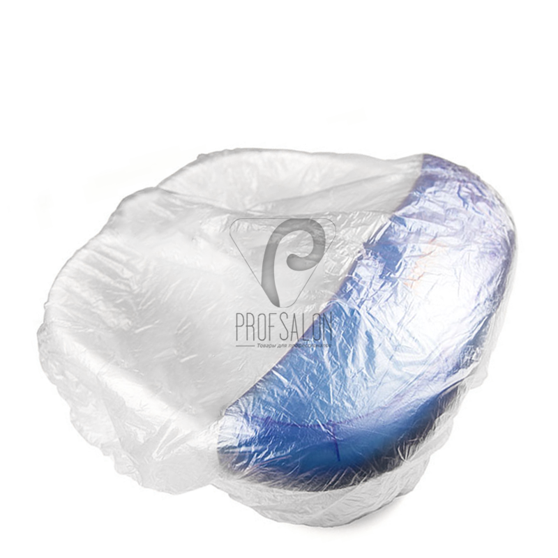 Чехол на ванночку для педикюра 80*80 см, 50 шт/уп, прозрачный