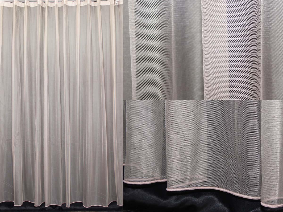 Тюль фатин, однотонный, цвет капучино. (3х2,5м) Код 321т 40-123