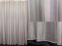 Тюль фатин, однотонный, цвет капучино. (3х2,5м) Код 321т 40-123, фото 1