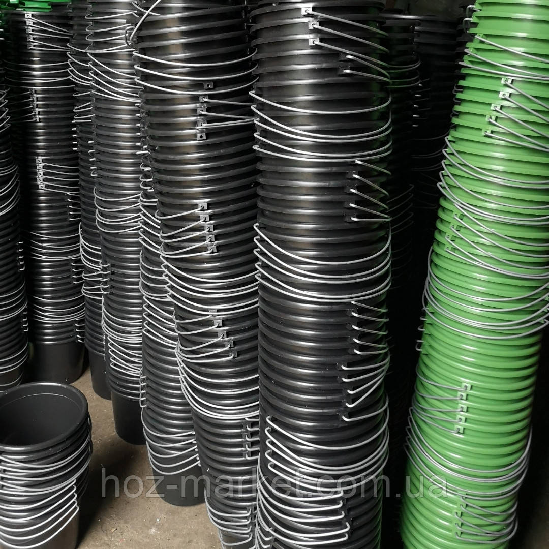 Ведро пластмассовое садово-огородное 10л