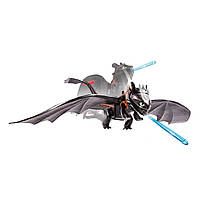 Дракон Беззубик ночная фурия атакующий Как приручить дракона Spin Master