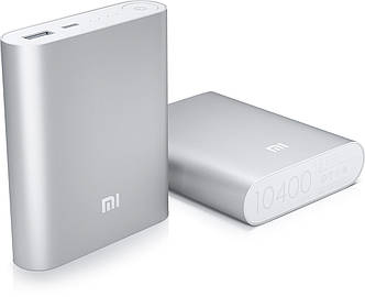 Внешний аккумулятор xiaomi power bank 10400 mah, Портативное зарядное устройство зарядка