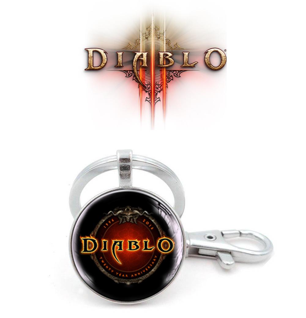 Брелок Логотип Диабло 3 / Diablo III