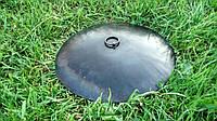 Крышка для сковороды из дисковой бороны