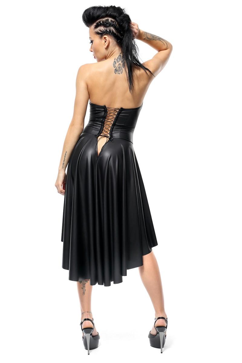 Черное сексуальное платье Demeter Demoniq