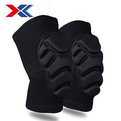 Захисні наколінники EVA Xukang для травмоопасного зимового спорту мото вело для дорослих і дітей (XS - XL)