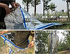 """Аварийный / спасательный """"космический"""" спальный термо-мешок / спальник (210 х 90 см / 80 г), фото 3"""