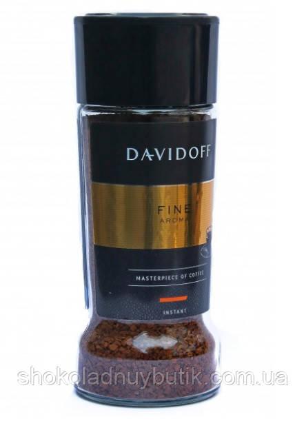 Кофе растворимый Davidoff Fine Aroma 100 г в стеклянной банке