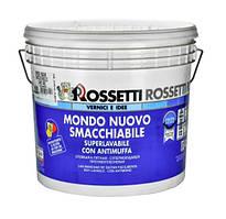 Суперстойкая краска на водной основе для внутренних работ MONDO NUOVO SMACCHIABILE (12 л) Rossetti