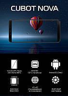 Смартфон Cubot Nova 3/16Гб 5.5' IPS 2SIM 4G 2800мАч (черный)
