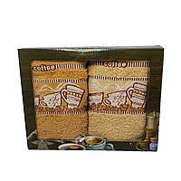 Набор махровых полотенец для кухни Luxyart 35*70 см 2 шт с бордюрам (L902)