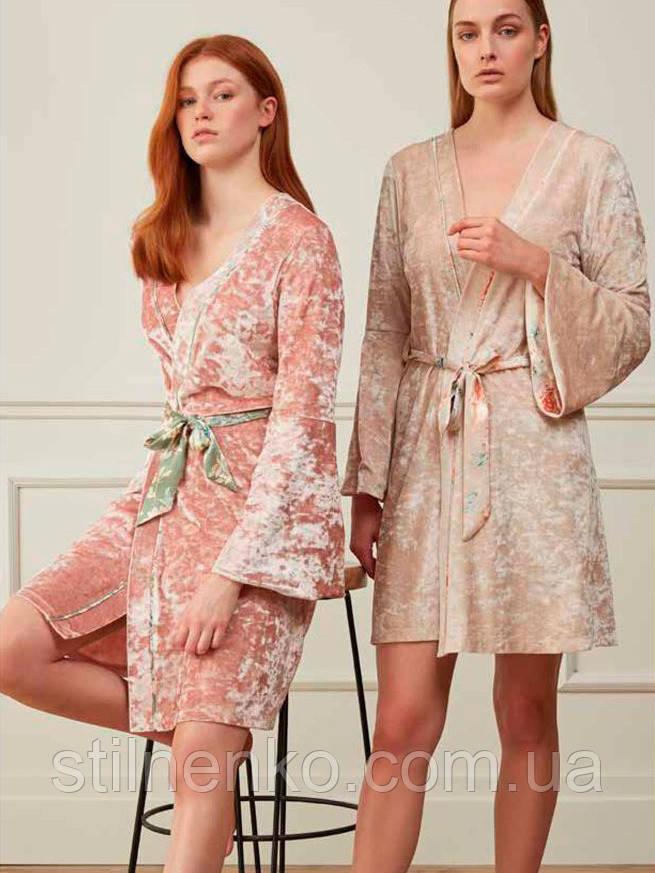 Женский красивый халат  2  цвета