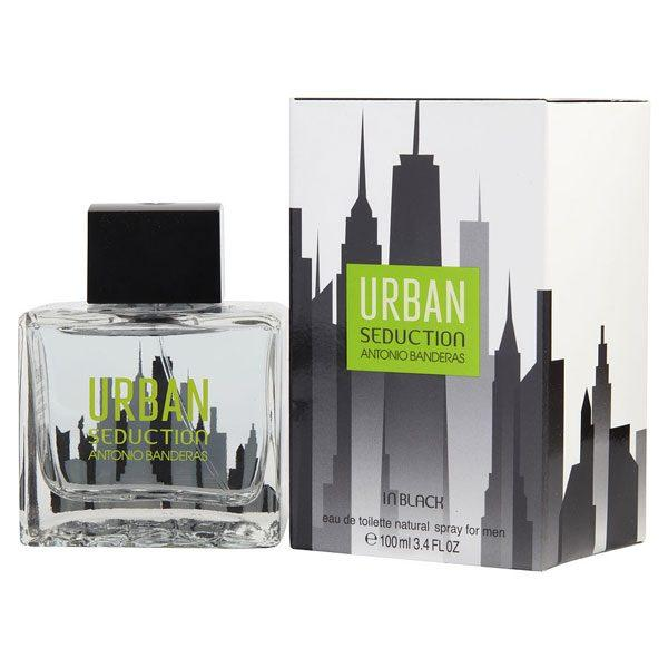 Мужская туалетная вода Antonio Banderas Urban Seduction in Black, 100 мл