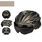 "Вело шлем-очки 2-в-1 GUB K80 PLUS со съёмной линзой от солнца, 2-Е ПОКОЛЕНИЕ: 7 РАСЦВЕТОК, в т.ч.""МАЙСКИЙ ЖУК"", фото 5"