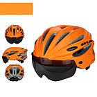 "Вело шлем-очки 2-в-1 GUB K80 PLUS со съёмной линзой от солнца, 2-Е ПОКОЛЕНИЕ: 7 РАСЦВЕТОК, в т.ч.""МАЙСКИЙ ЖУК"", фото 6"