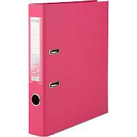 Папка регистратор А4 AXENT двусторонний 5 cм розовый разобранный D1711-05P