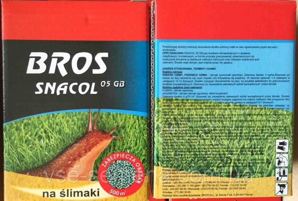Метальдегид Snacol (Снакол) 200 г оригинал