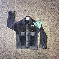 Джинсовая куртка оптом для мальчиков от 5 до 8 лет., фото 1