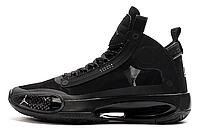 Мужские баскетбольные кроссовки Air Jordan 34 Black Cat Реплика (42 размер), фото 1