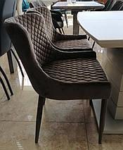 Стілець М-20 коричневий вельвет, фото 2