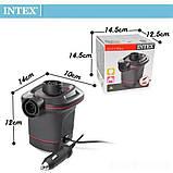 Электрический насос для надувания Intex 66636 от прикуривателя 12 V, 600 л/мин, фото 4
