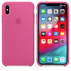 "Apple silicon case iPhone XS  "" Dragon Fruit  """