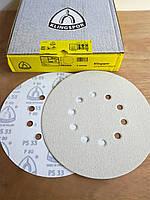 Круг шлифовальный на липучке d225 мм, для жирафа P80 GLS 52//Klingspor