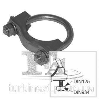 Хомут-зажим глушителя металлический FISCHER 922-948