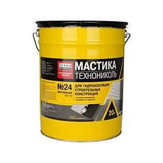 Мастика гидроизоляционная МГТН №24 (20 кг.банка)