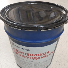 Мастика битумная для фундамента (9 кг банка)