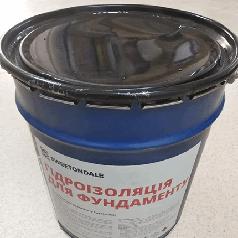 Мастика битумная для фундамента (17 кг банка)