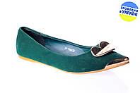 Женские туфли балетки elmira-rima 1166g весенние , фото 1