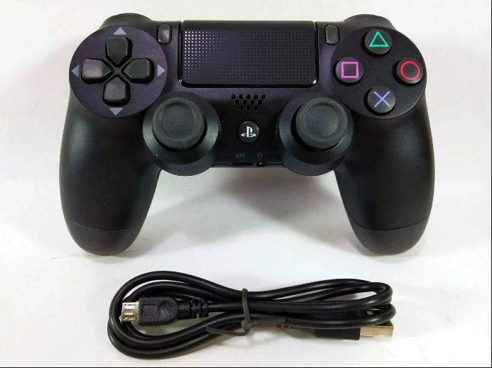 Беспроводной игровой джойстик, геймпад Dualshock PS4 контроллер для ПС4 вибро Черный