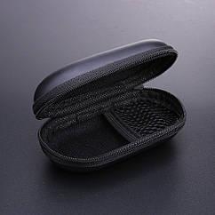 Бокс / футляр / кейс / кофр / чохол для навушників / флешок / дрібниць овальний жорсткий (EVA) на блискавці
