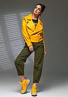 Ультрамодная молодежная куртка бомбер Mila (42–48р) в расцветках, фото 1