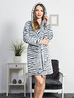 Женский халат тигровый принт
