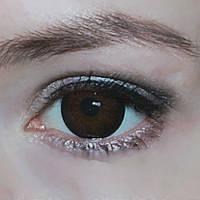 Контактные линзы для глаз тёмно карего цвета Купить карие линзы по самым низким ценам в Украине!, фото 1