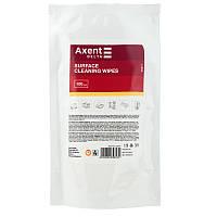 Салфетки для оргтехники влажные (запасной блок) 100шт. Delta by Axent D5311