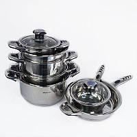 Набор посуды 16 предметов, Набір посуду 16 предметів, Наборы посуды для приготовления пищи, Набори посуду для приготування їжі
