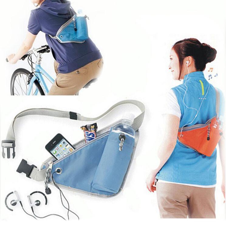 Спортивна сумка на пояс з відділенням для фляги