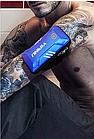 """Чохол-футляр захисний """"дихаючий"""" світиться для телефону (5.0"""" / 5.5"""") на передпліччя YIPINU YA18, фото 3"""