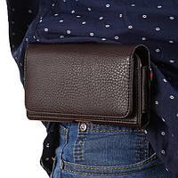 """Iphone 6 Plus / 6s Plus чехол на пояс оригинальный поясной кожаный из натуральной кожи с карманами """"RAMOS"""""""