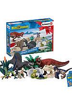 Рождественский календарь Динозавры schleich ( адвент календарь )
