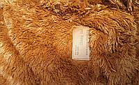 Покрывало из искуственного меха на кровать 160х200 травка