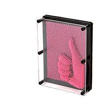 Экспресс-скульптор PIN - ART Пин-арт большой 20 см (пластик) Розовый
